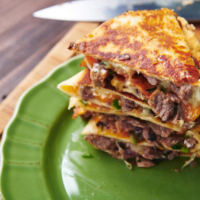 Steak and Cheese Quesadillas
