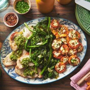 Pork Chops with Italian Salsa Verde