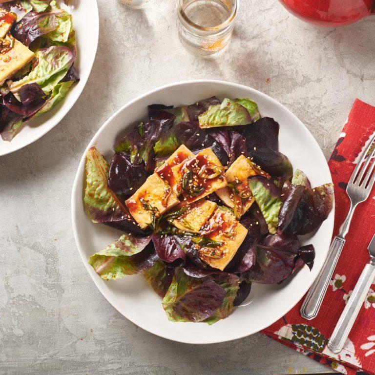 Korean Tofu Salad