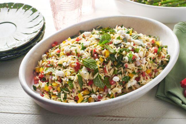 Herb Orzo Salad