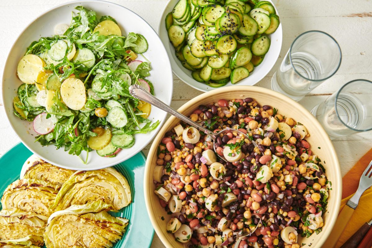 Round up of side salads for summer