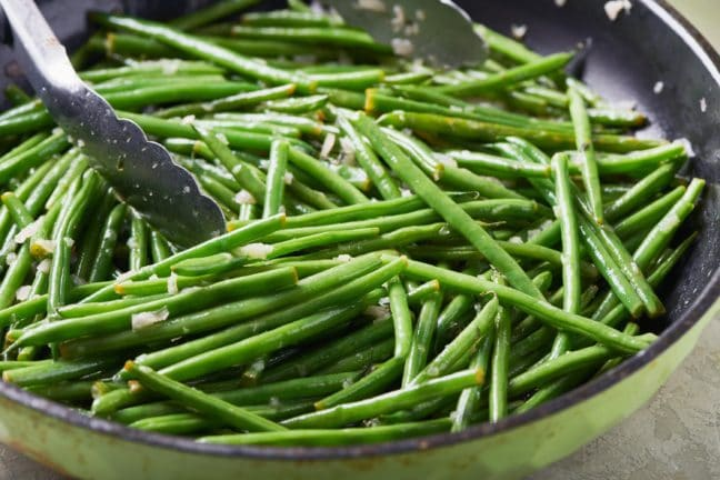 Sautéed Green Beans with Thyme Butter