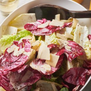 Mixed Lettuce Salad with Mustard Vinaigrette