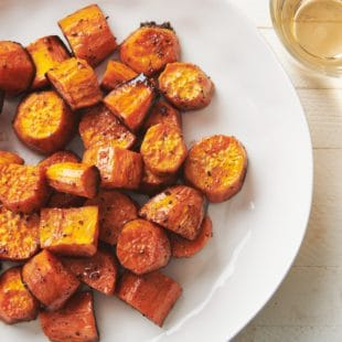 Simple Butter Roasted Sweet Potatoes