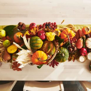 How to Make A DIY Thanksgiving Centerpiece