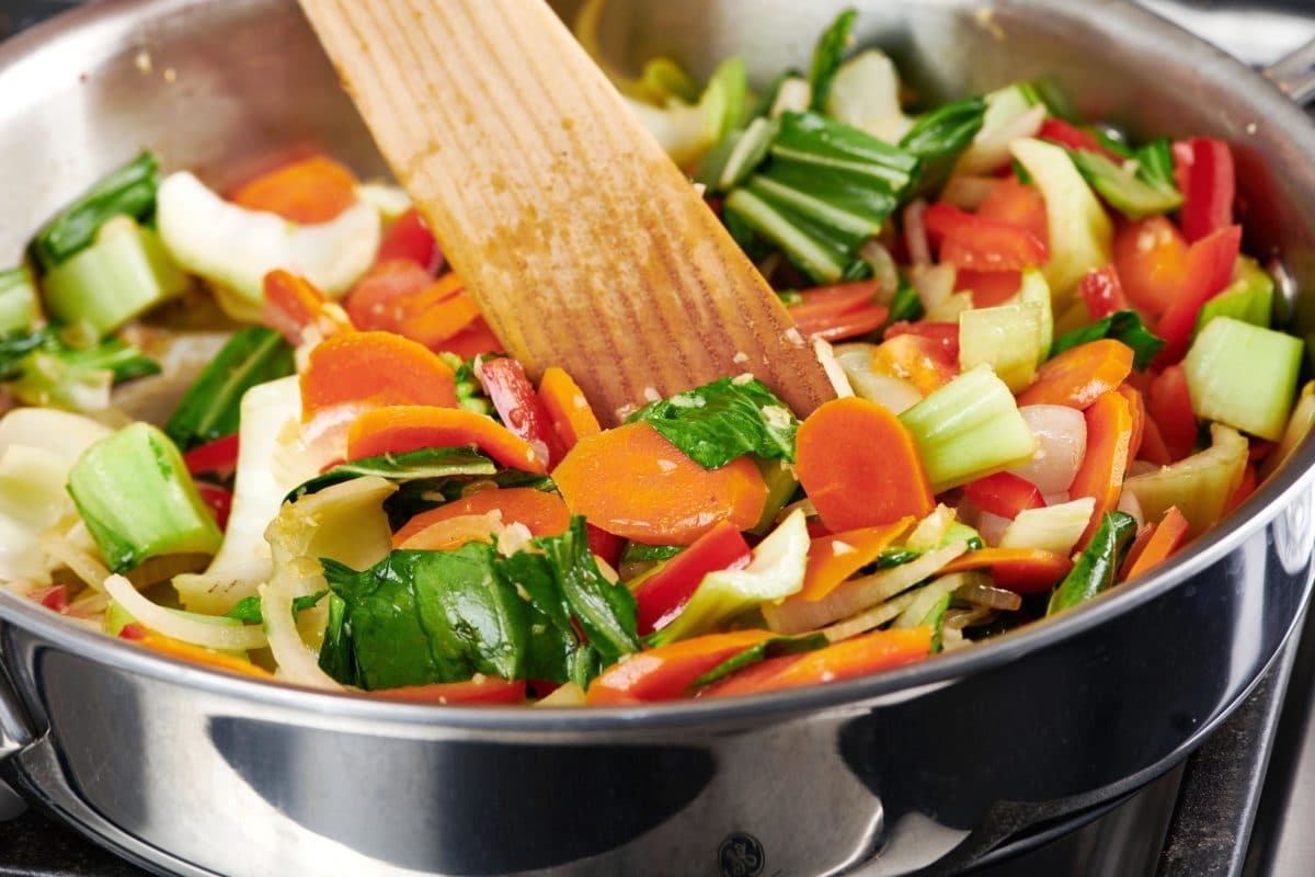 Simple Stir-Fried Vegetables