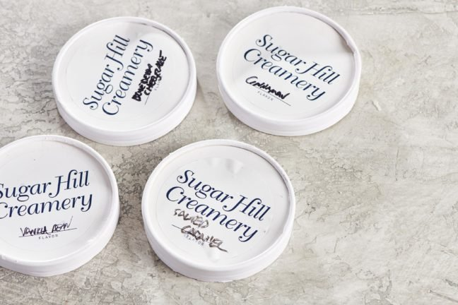 Sugar Hill Creamery Lids