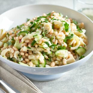 White Bean and Hearts of Palm Salad