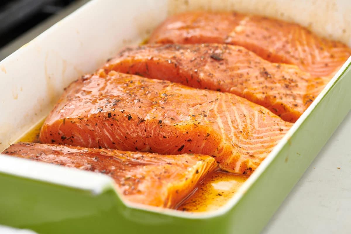 Dedie's Herbed Salmon