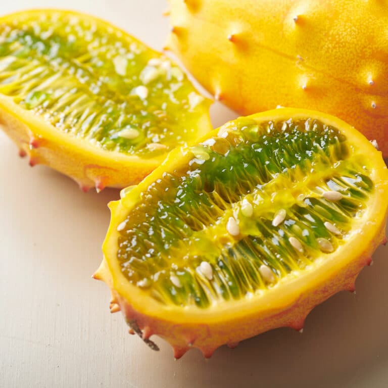 How to Eat Kiwano Melon