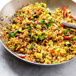 Vegetable Stir Fried Rice