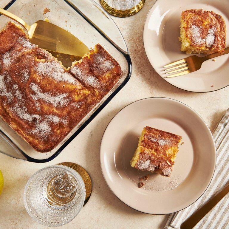 Apple Coffee Cake