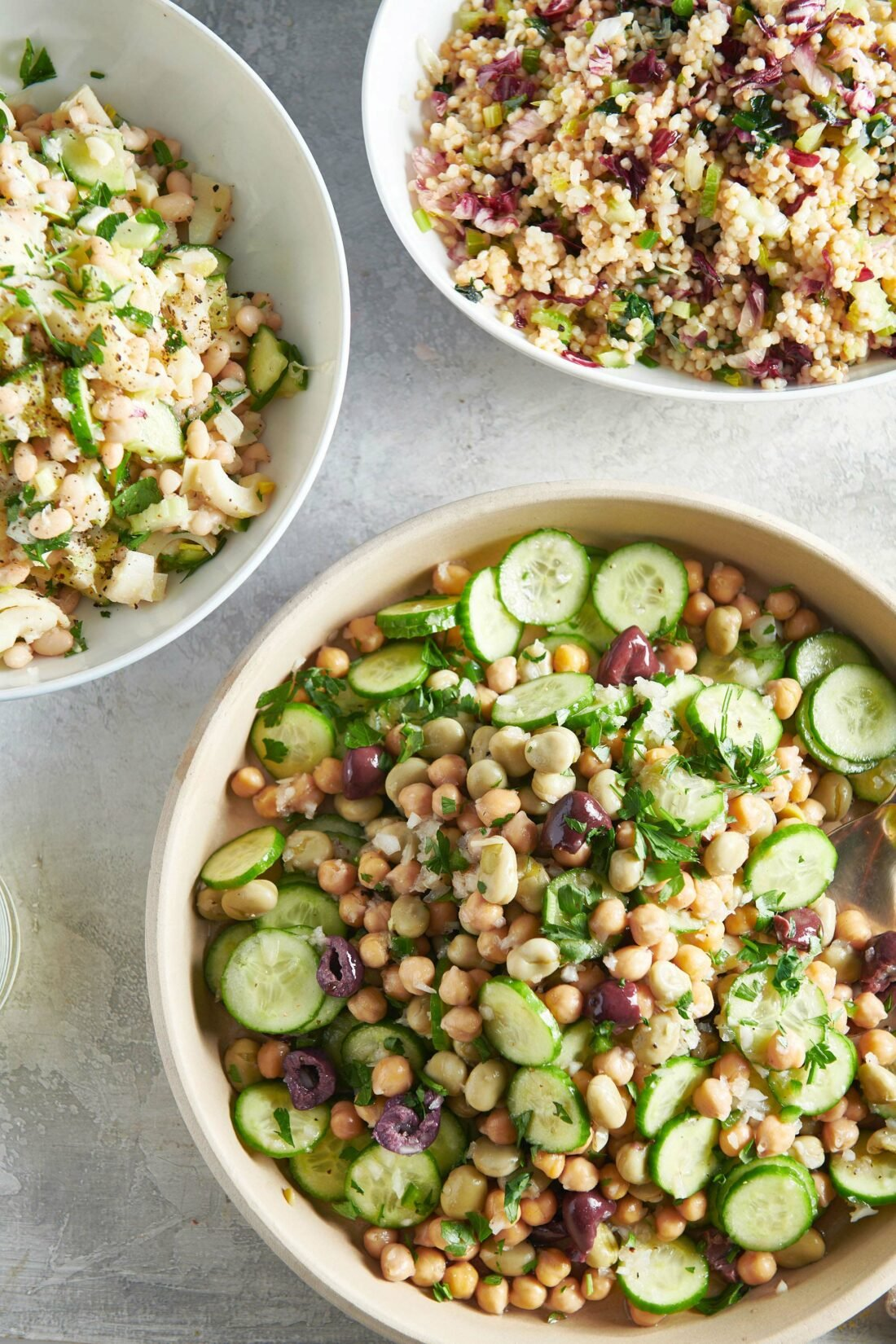 Chickpea and Fava Bean Salad