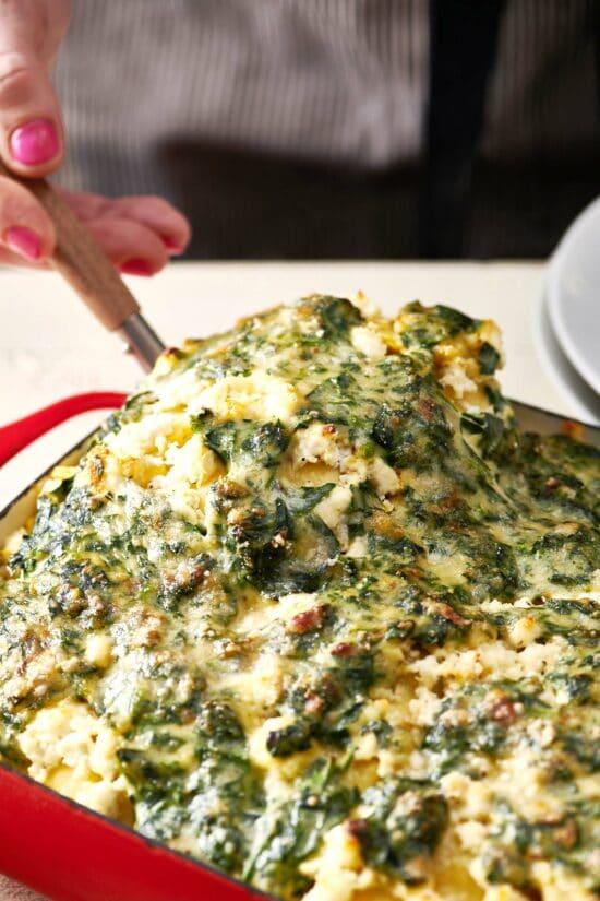 Fresh Spinach Ravioli Lasagna