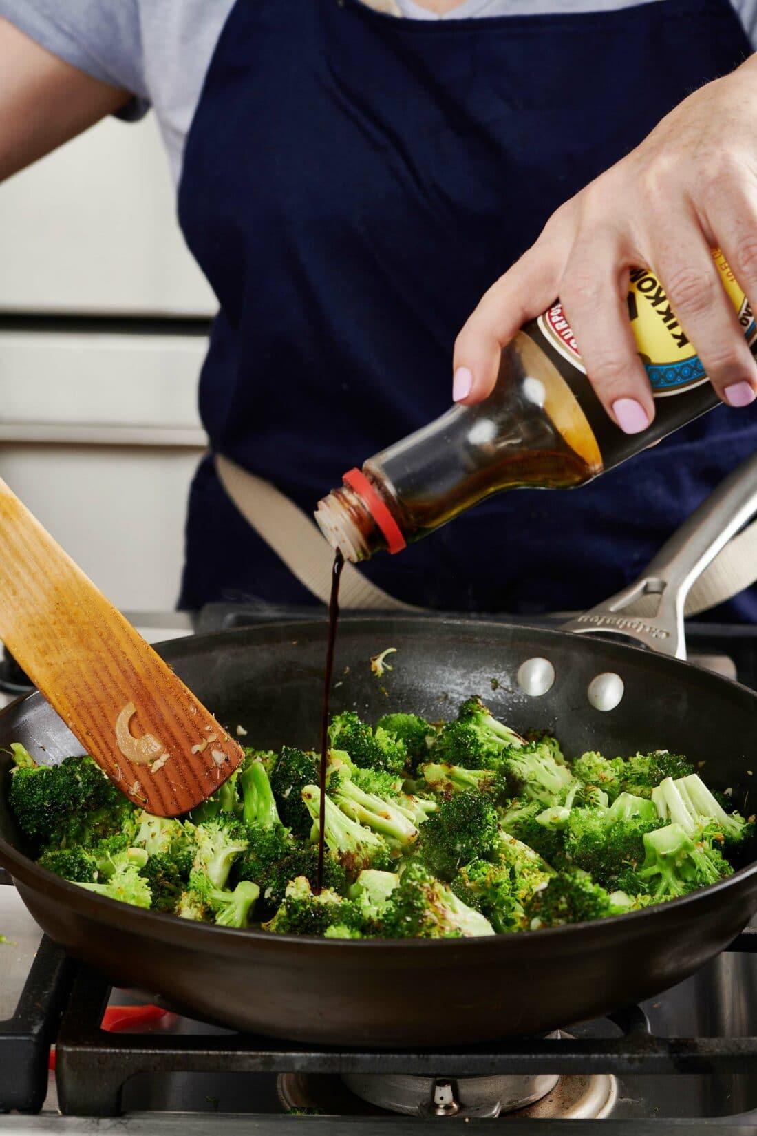 Simple Stir-Fried Broccoli