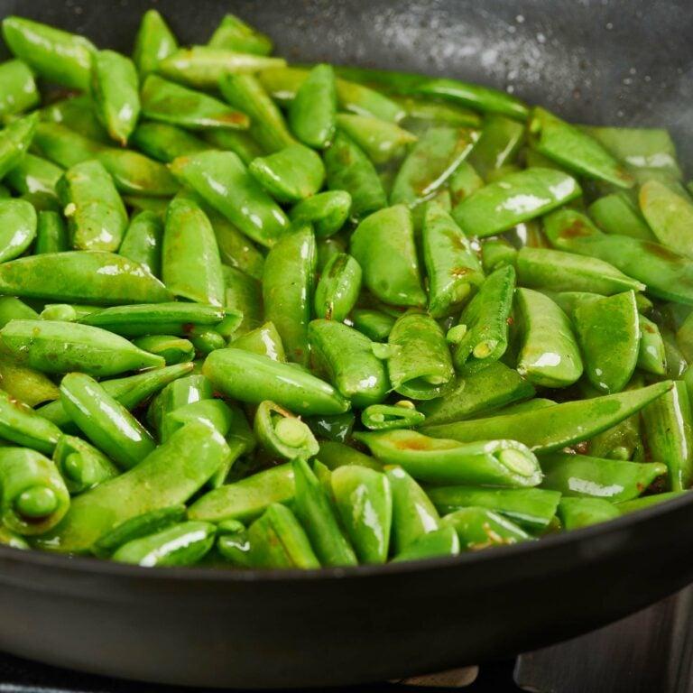Soy Glazed Sugar Snap Peas