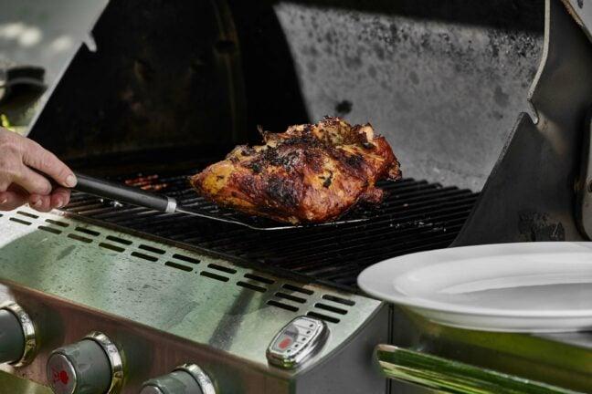 Grilled Split Turkey Breast
