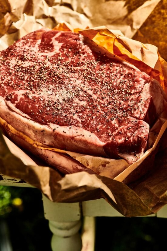 How to Grill New York Strip Steaks