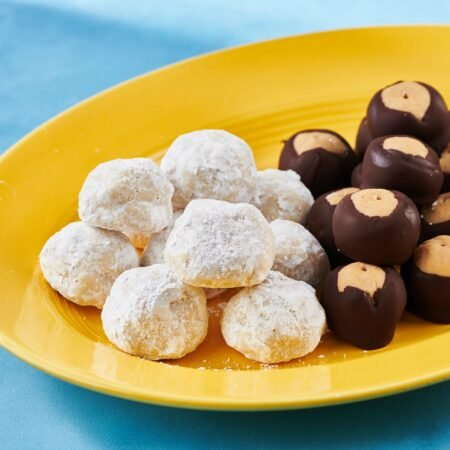 Nut-Free Snowball Cookies